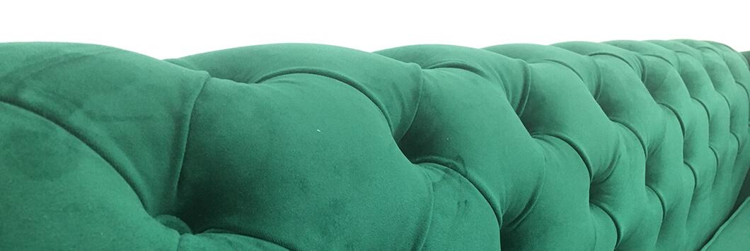 detaliu tapiterie chesterfield