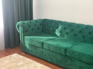 Canapea Chesterfied 3 locuri verde 3
