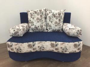 Canapea Junior albastru trandafiri