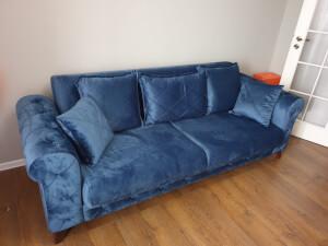 Canapea Riva albastră