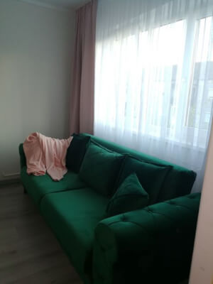 Canapea Riva verde