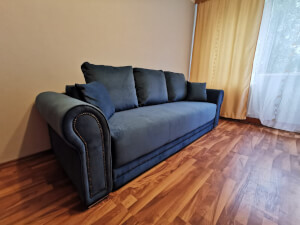 Canapea albastră Alexandra 1