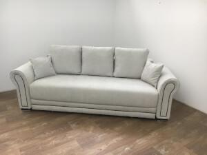 Canapea cu 3 locuri, gri deschis - model Alexandra
