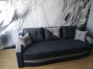 Canapea gri brate imbracate - model Milano