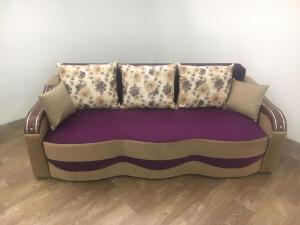 Canapea mov cu cappuccino - model Milano