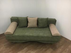 Canapea verde - model Roxy
