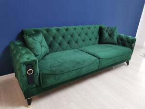 Canapea verde model LIZBON 2