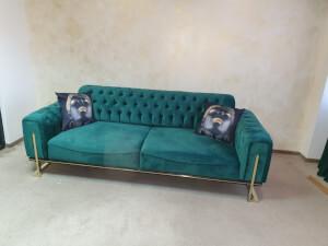 Canapea verde model ROLEX