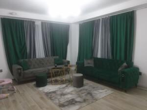 Canapele gri și verde - model Lizbon