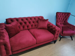 Set canapea cu 2 fotolii - imaginea 02