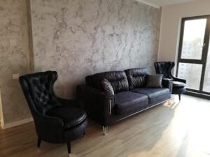 Set canapea cu 2 fotolii model Bellini