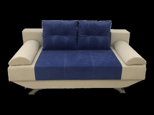 Canapea extensibilă fără brațe albastru gri NEW STYLE