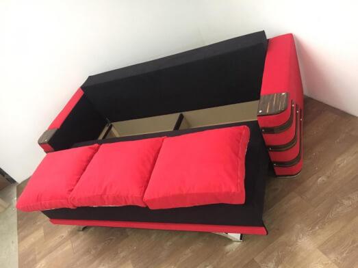 1-34-cb65-Canapea-extensibila-culorii-vii-negru-rosu-Lara-lada-de-depozitare