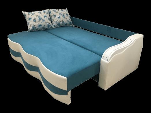1-39-fa00-Canapea-extensibila-rezistenta-albastru-alb--Milano-extinsa