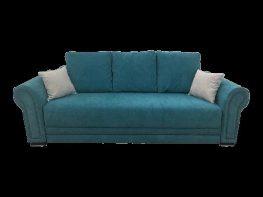 Canapea extensibilă turquoise - model ALEXANDRA