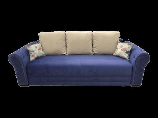 Canapea extensibilă albastră - model ALEXIA