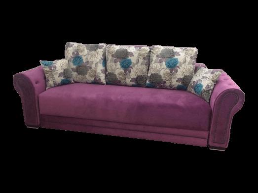 Canapea extensibilă mov - model ALEXIA