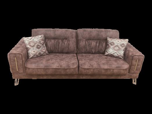 Canapea extensibilă 3 locuri, violet - model BELLINI