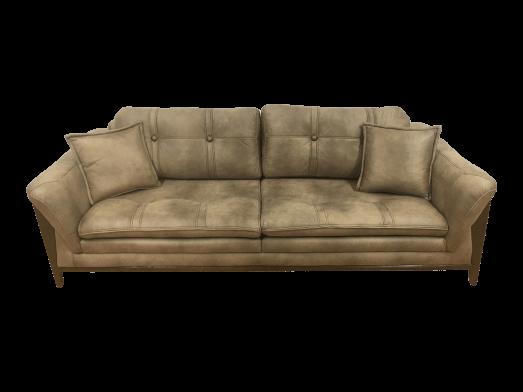 Canapea fixă maro - model BIANCA