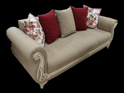 Canapea fixă crem - model CLASS