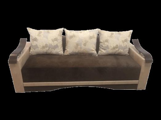 Canapea extensibilă maro - model CLAUDIA