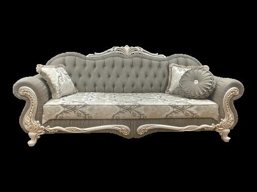 Canapea fixă 3 locuri cappuccino - model CAMLICA