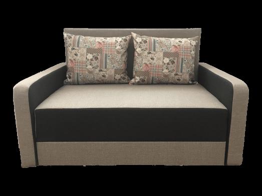 Canapea extensibila 2 locuri crem - model ISABEL