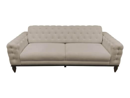 Canapea living, 3 locuri, crem - model JASMINE
