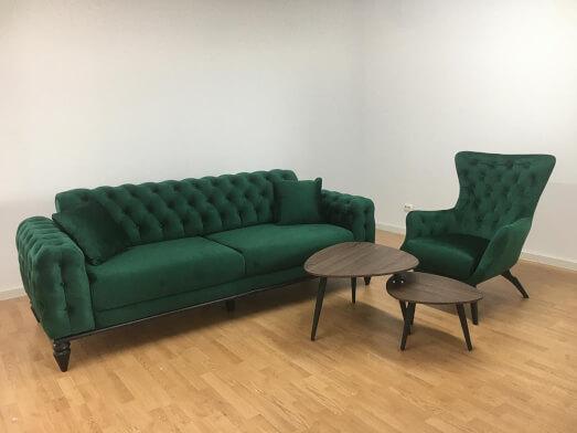 Canapea-cu-fotoliu-JASMINE-culoare-verde-a0