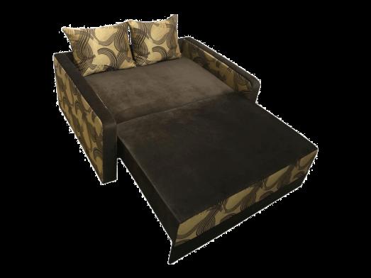 Canapea-extensibila-2-locuri-maro---model-Isabel---extinsa-cu-perne-60