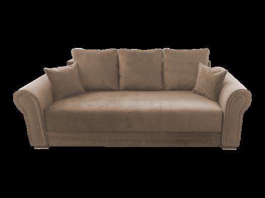 Canapea extensibilă cappuccino - model ALEXANDRA