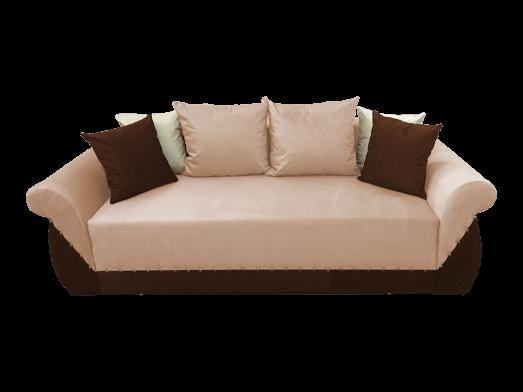 Canapea extensibilă 3 locuri, crem maro - model Royal