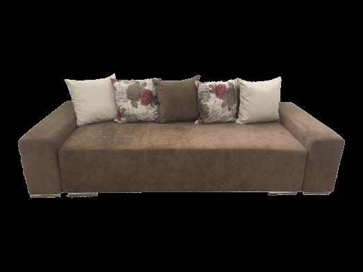 Canapea extensibilă 3 locuri maro - URBAN