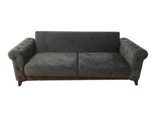 Canapea-extensibila-gri---RIVA-fara-perne-a5