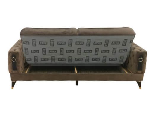 Canapea-extensibila-maro-inchis---LIZBON-lada-55