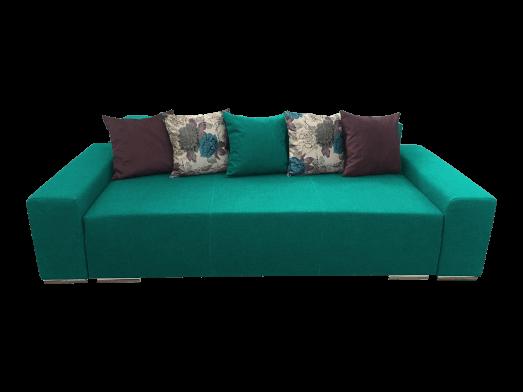 Canapea extensibilă 3 locuri turquoise - URBAN