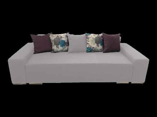 Canapea extensibila 3 locuri albă - URBAN