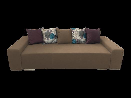 Canapea extensibilă 3 locuri cappuccino - URBAN