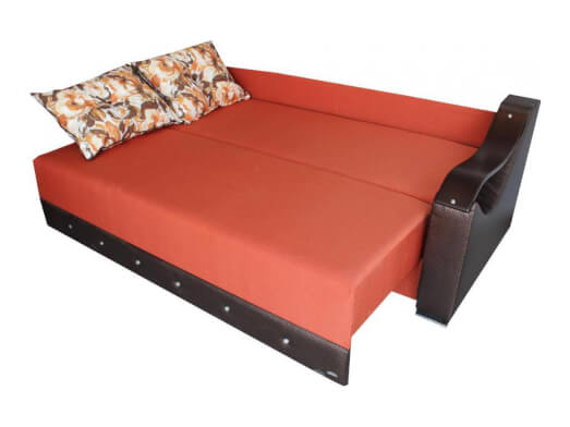 Canapea-extensibila-portocalie-model-Cleo---extinsa-a1