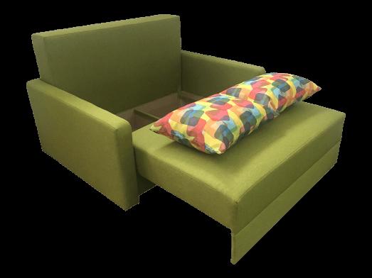 Canapea-extensibila-verde---model-ISABEL---lada-25