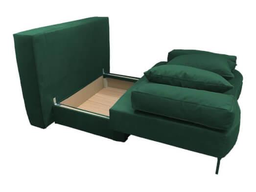 Canapea-extensibila-verde-Junior---lada-72