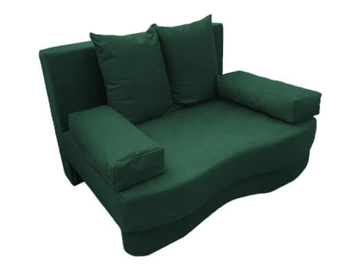 Canapea-extensibila-verde-Junior---lateral-4e