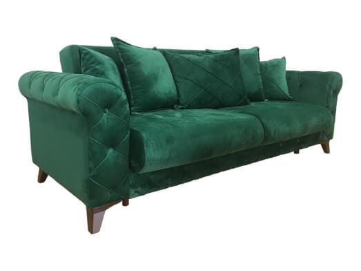 Canapea-extensibila-verde-RIVA-unghi-89