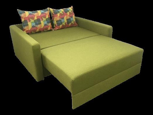 Canapea-extensibila-verde-extinsa-cu-perne---model-ISABEL-92