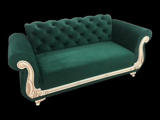 Canapea-fixa-2-locuri-verde-model-Fancy-unghi-c9