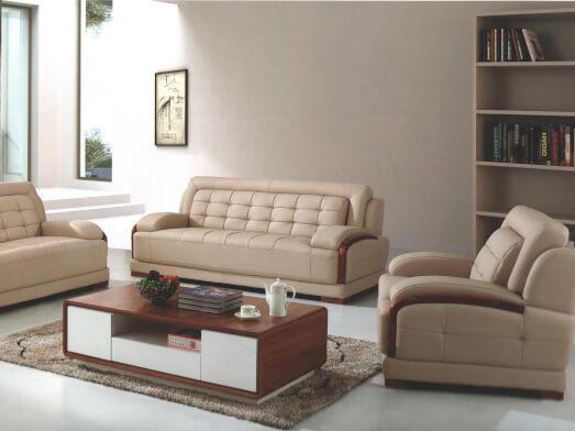 Set fotoliu și canapele din piele ecologică - model 142
