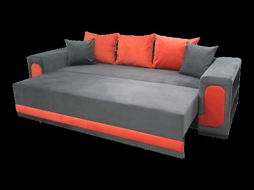 Coltar-extensibil-3-locuri-gri-cu-portocaliu---extinsa-cu-perne-6d