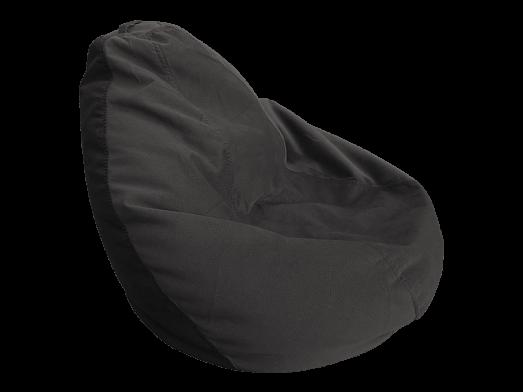 Fotoliu puf cu husă detașabilă, negru - model DODOPUF