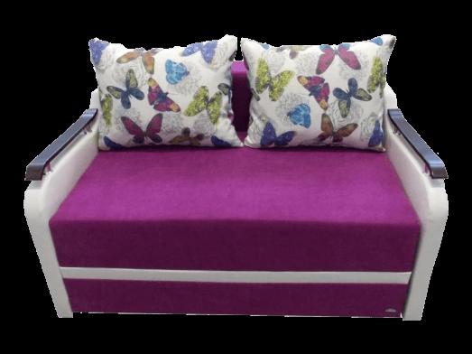 Canapea extensibilă 2 locuri mov - MARIA