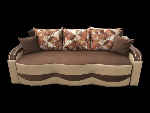 Canapea extensibilă maro crem - model MILANO